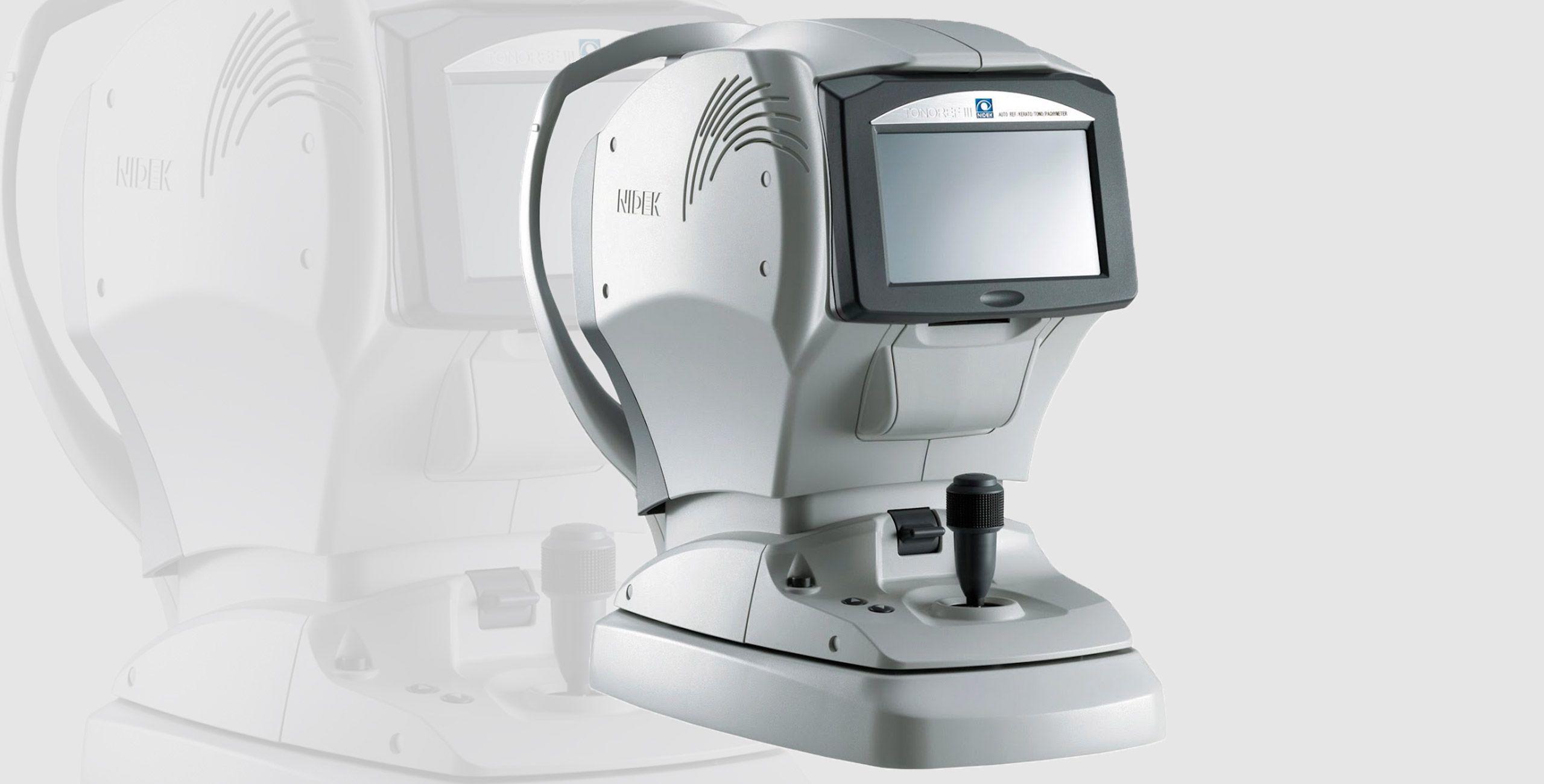 L'examen de l'autoréfractomètre à Paris 5 - Centre ophtalmologique COSS