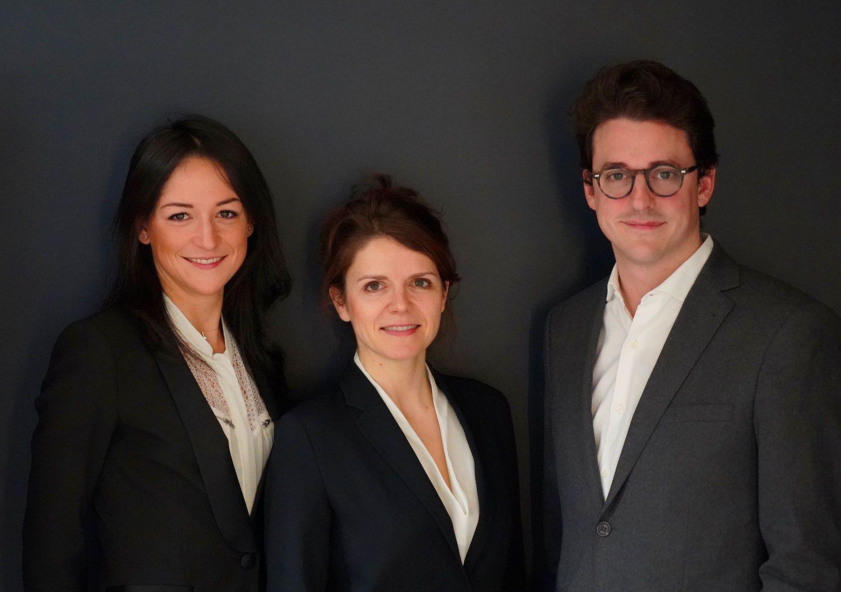 L'équipe pluridisciplinaire du centre ophtalmologique COSS à Paris 5