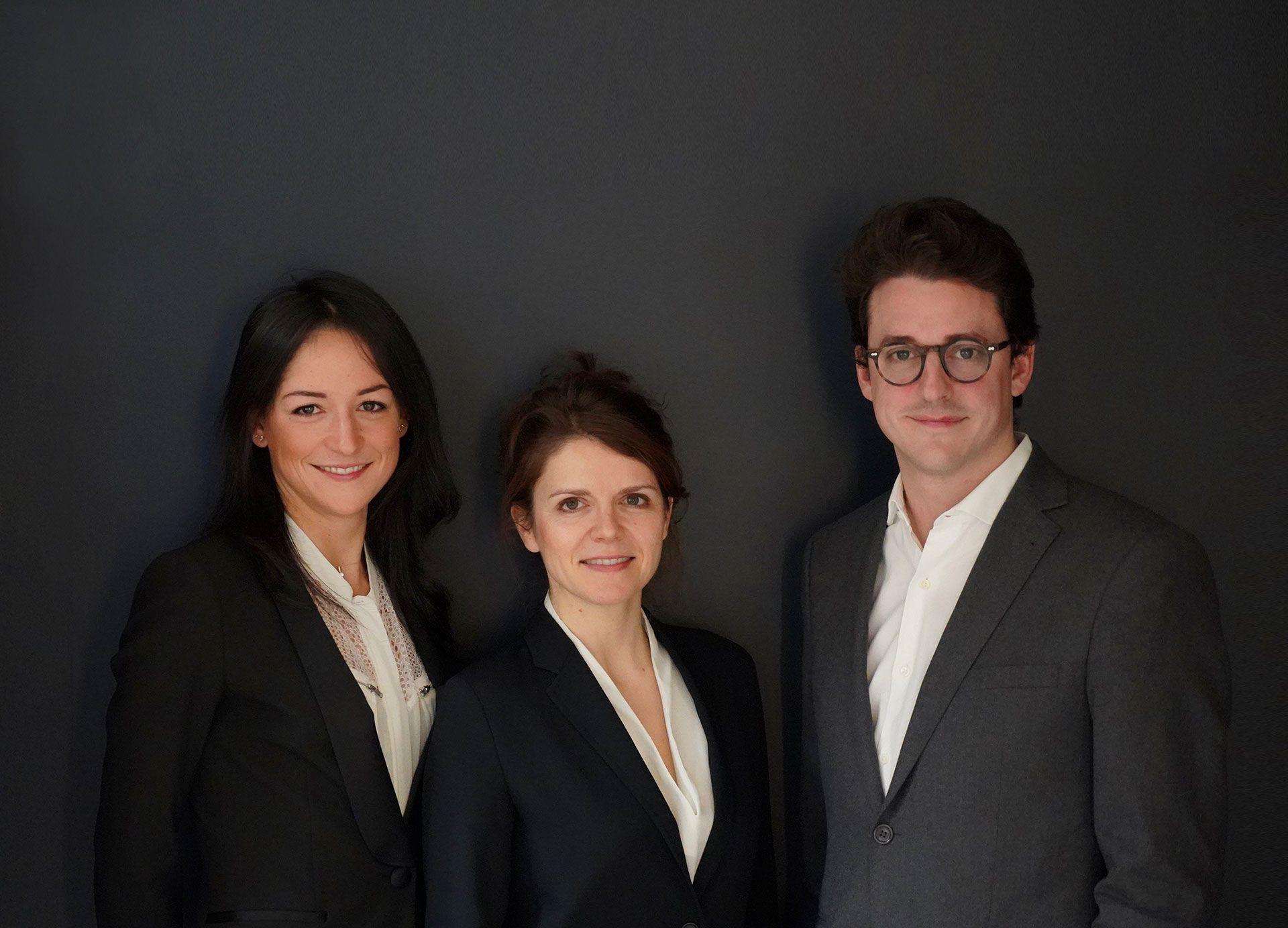L'équipe du centre ophtalmologique COSS à Paris 5